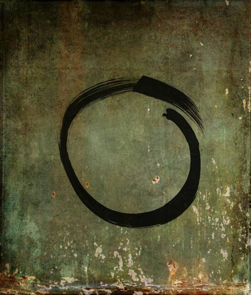 Painting - Enso #6 - As Time Goes By by Marianna Mills