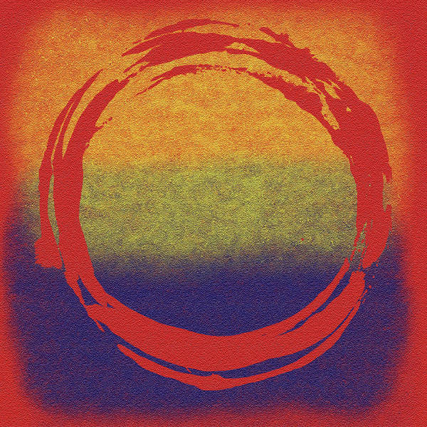 Wall Art - Painting - Enso 7 by Julie Niemela