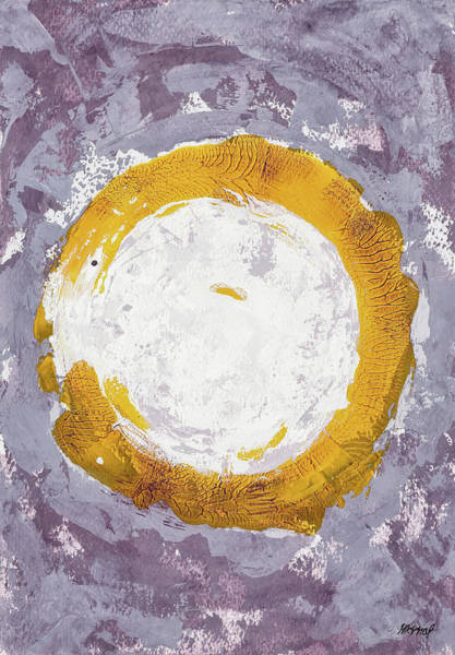 Painting - Enso Of Daisies by Maria Arnaudova