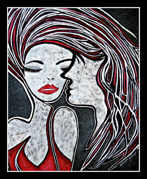 Entangled Painting - Entangled by Devora Rotering