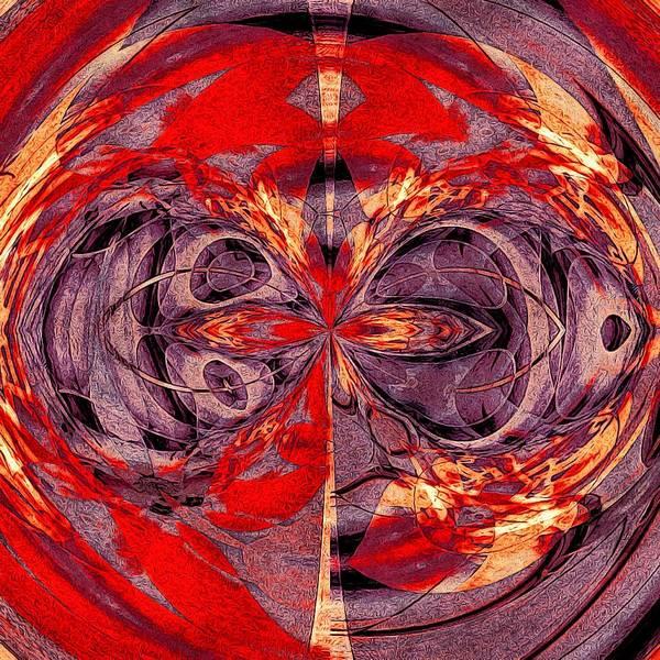 Digital Art - Entangled Reflected Universes by Susan Maxwell Schmidt