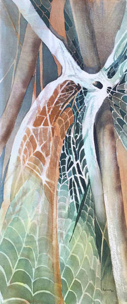 Entangled Painting - Entanglements by Teresa Ascone