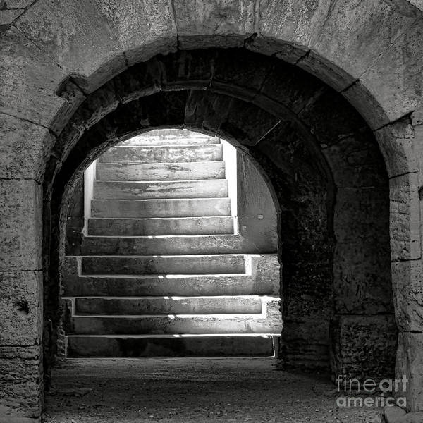 Wall Art - Photograph - Enter The Arena by Olivier Le Queinec