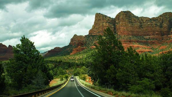Photograph - Entering Sedona Arizona In The Storm by Ola Allen