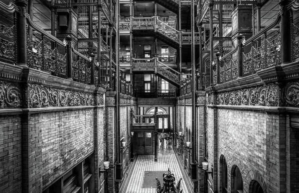 Photograph - Entering The Bradbury B And W  by Michael Hope