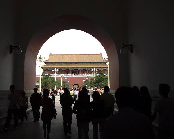 Photograph - Entering The Forbidden City by David Coblitz