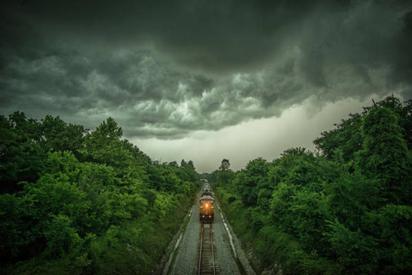 Subdivision Photograph - Entering The Storm by Jim Pearson