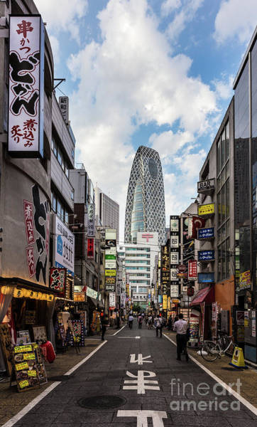 Photograph - Entertainement District At The Foot Of The Skyscrapers Of Shinju by Didier Marti