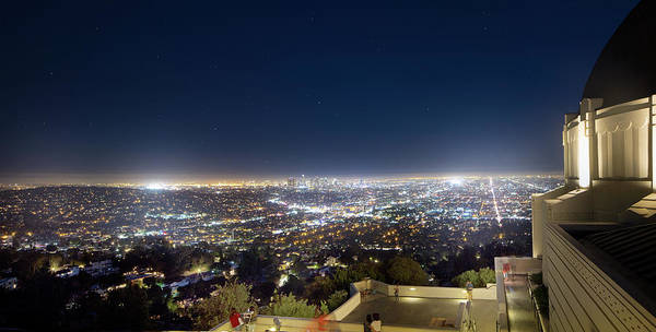 Los Angeles Skyline Photograph - Entertainment Capitol Of The World by Mark Andrew Thomas