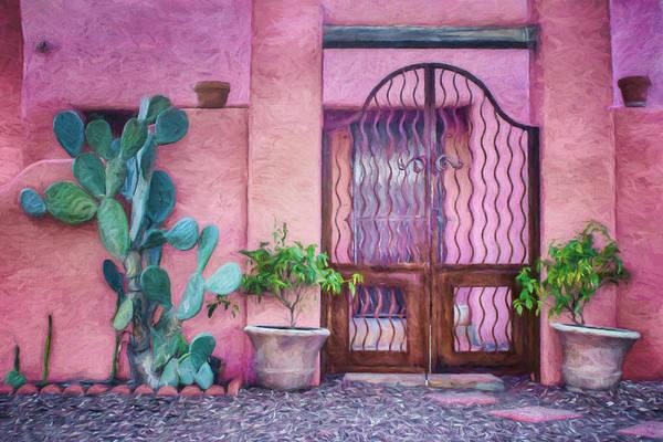Entrada Photograph - Entrada - Barrio Historico - Tucson by Nikolyn McDonald