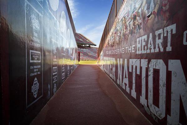 Nation Photograph - Entrance by Ricky Barnard