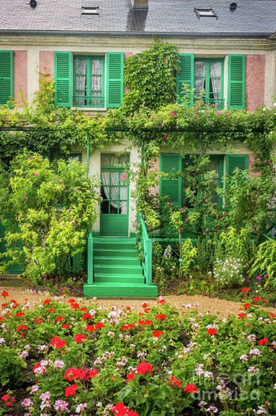 Claude Monet Photograph - Entrance To Claude Monet's Home, Giverny 2 by Liesl Walsh