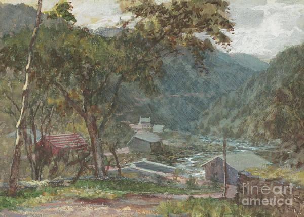 Upstate New York Painting - Entrance To Kauterskill Clove by John Frederick Kensett