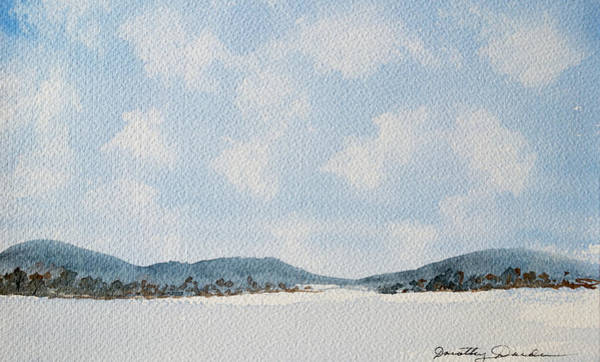 Painting - Entrance To Moulters Lagoon From Bathurst Harbour by Dorothy Darden