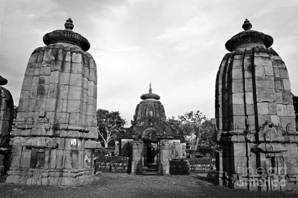 Wall Art - Photograph - Entrance To The Mukteswar Temple In Bhubaneswar India by Sami Sarkis