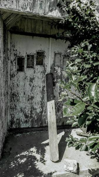 Dour Photograph - Entry To Abandoned Church by Curtis Tilleraas
