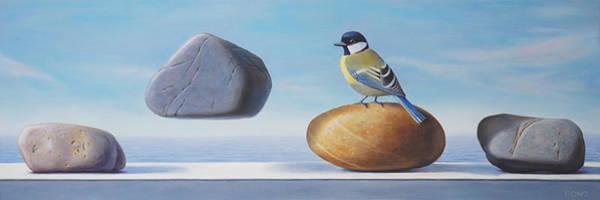 Magic Realism Painting - Envy by Paul Bond