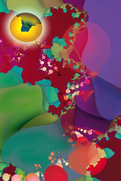 Generative Painting - Eons by Dolores Kaufman