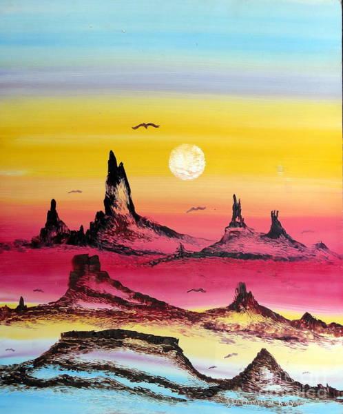 Painting - Eons by Santiago Chavez