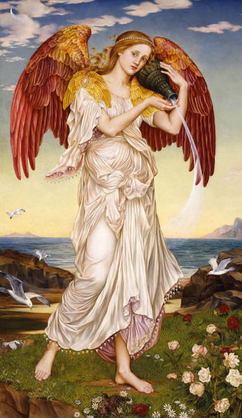 Wall Art - Painting - Eos by Mary Evelyn Pickering De Morgan