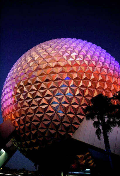 Epcot Center Wall Art - Photograph - Epcot by Anthony Jones