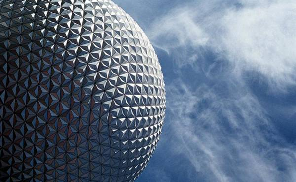 Epcot Center Wall Art - Photograph - Epcot Architecture by Billy Soden