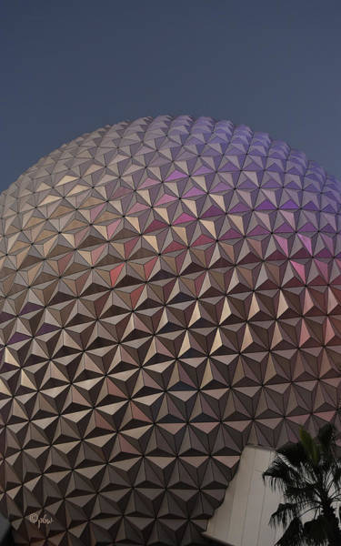 Wall Art - Photograph - Epcot Geodesic Dome I by Paulette B Wright
