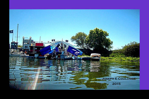 Photograph - Ephemerisle 2015 - A Floating City by Joseph Coulombe