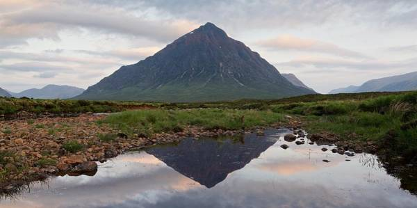 Photograph - Epic Clouds Around Buachaille Etive Mor by Stephen Taylor