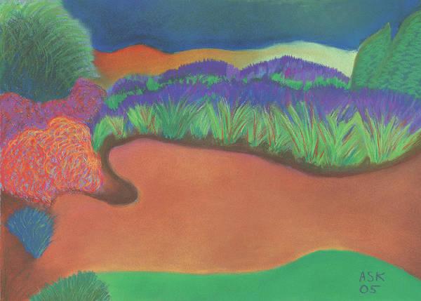 Pastel - Epiphany by Anne Katzeff