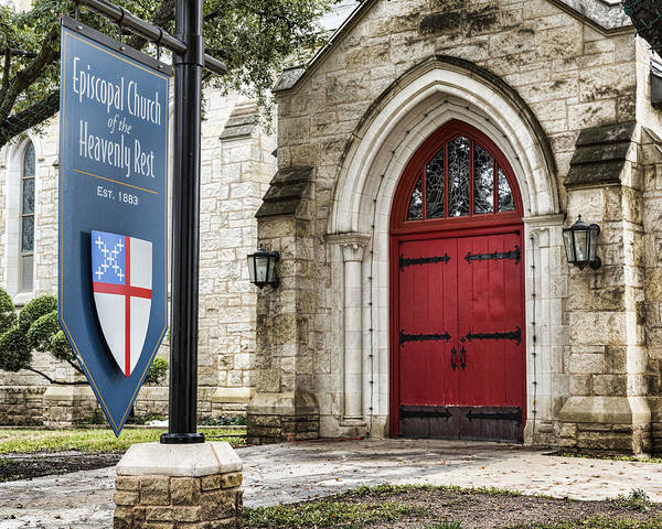 Wall Art - Photograph - Episcopal Church Of The Heavenly Rest by Stephen Stookey