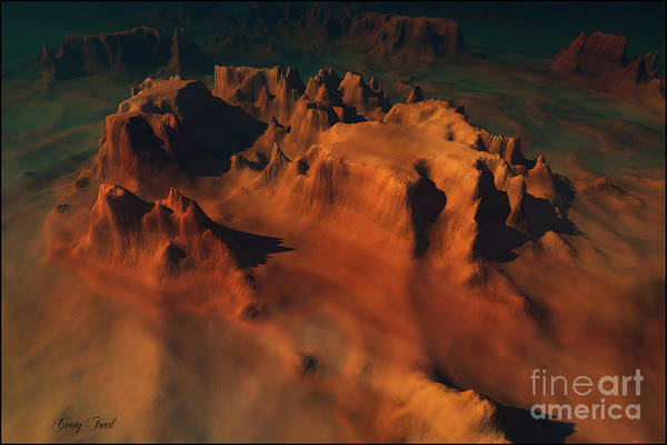 Wall Art - Painting - Epoch by Corey Ford