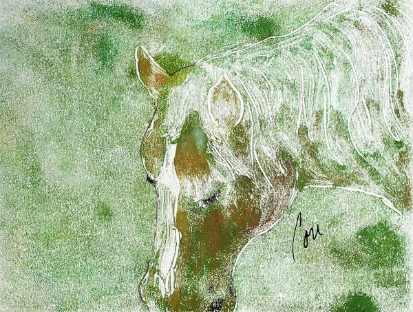 Palomino Horse Mixed Media - Equine Dreams by Cori Solomon