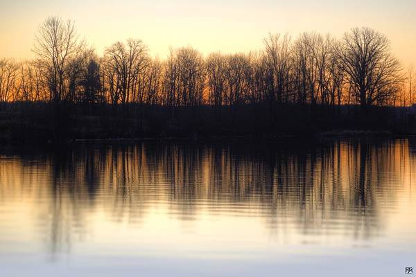 Photograph - Equinox Sunrise by John Meader