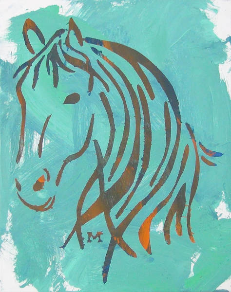 Painting - Equus by Candace Shrope