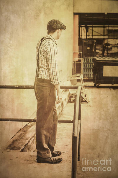 Checking Photograph - Era Of Industry by Jorgo Photography - Wall Art Gallery