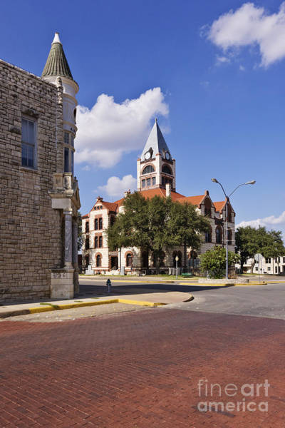 Courthouse Towers Wall Art - Photograph - Erath County Courthouse by Jeremy Woodhouse