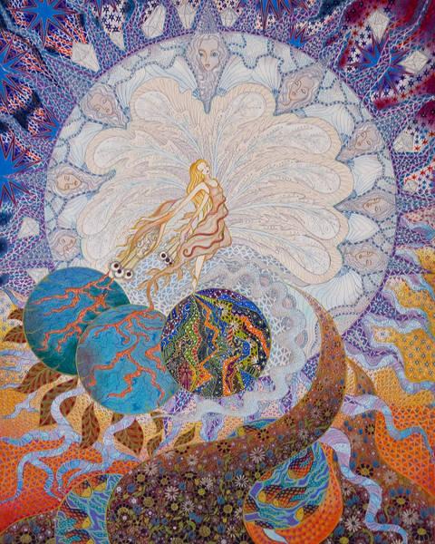 Painting - Erdenora by Ellie Perla