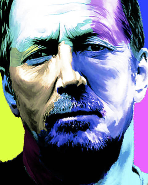 The Wailers Painting - Eric Clapton By Nixo by Never Say Never