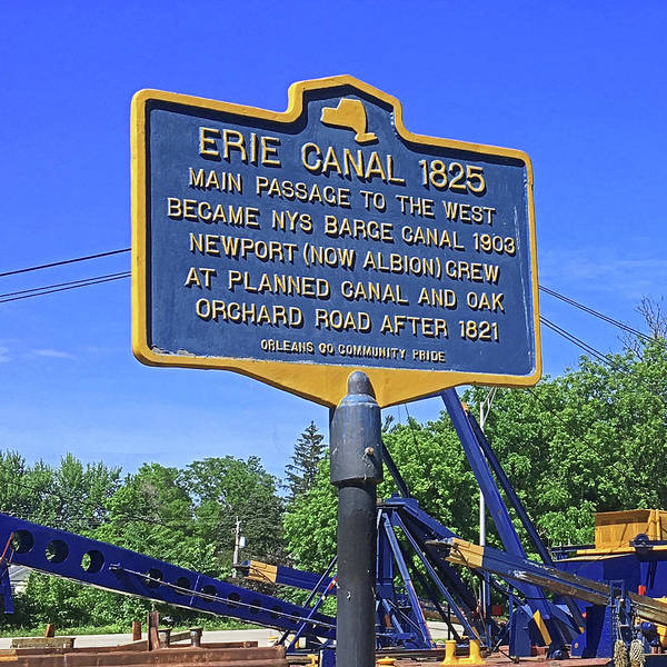 Digital Art - Erie Canal 1825 by Joseph Coulombe