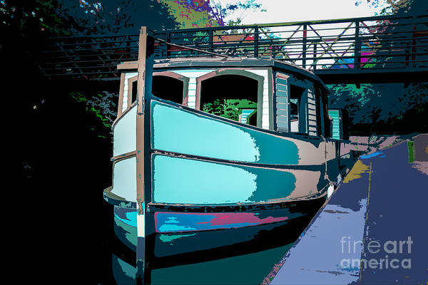 Photograph - Erie Canal At Grand Rapids by Michael Arend