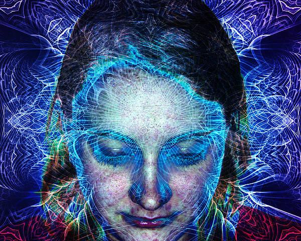 Fate Digital Art - Erin Divine by Bear Welch