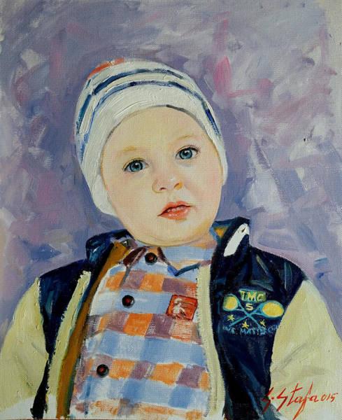 Painting - Erin - Trimi I Dibres by Sefedin Stafa