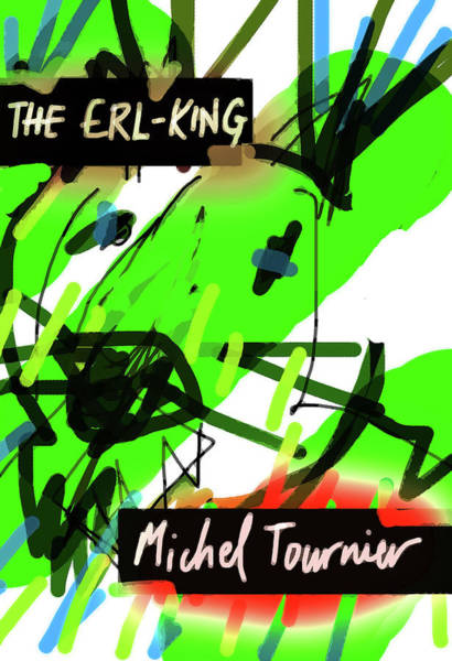 Mixed Media - Erl King Michel Tournier Poster  by Paul Sutcliffe