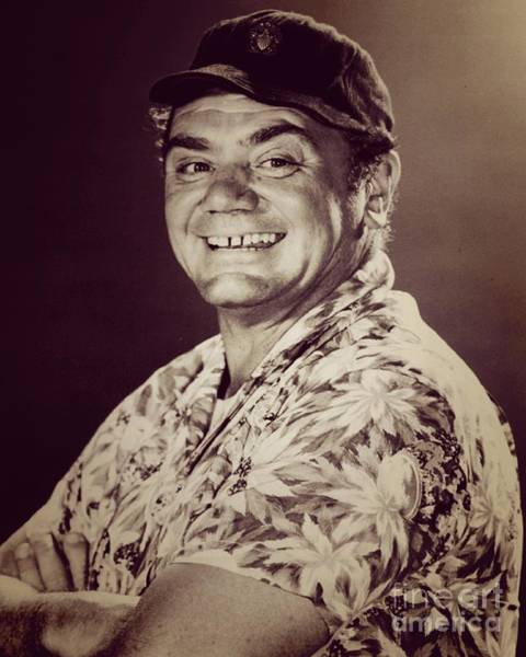 Hollywood Star Photograph - Ernest Borgnine, Hollywood Legend by Esoterica Art Agency