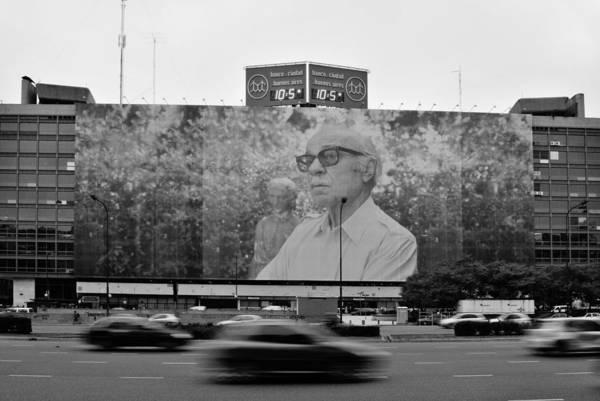 Cabildo Wall Art - Photograph - Ernesto Sabato by Hans Wolfgang Muller Leg