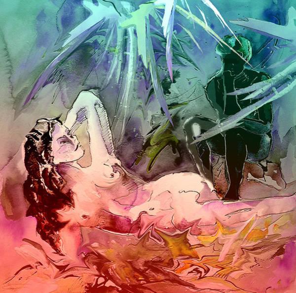 Painting - Eroscape 0803 by Miki De Goodaboom