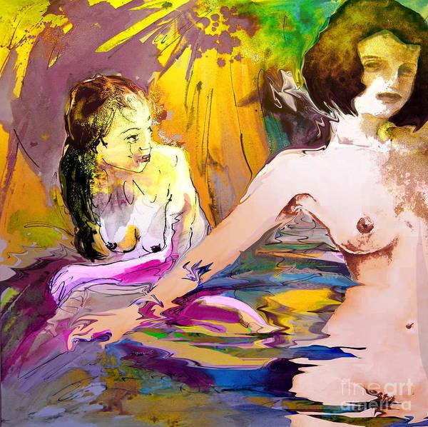 Painting - Eroscape 15 2 by Miki De Goodaboom