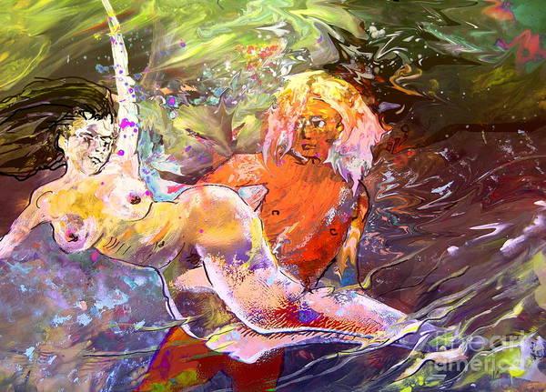 Painting - Erotype 06 1 by Miki De Goodaboom
