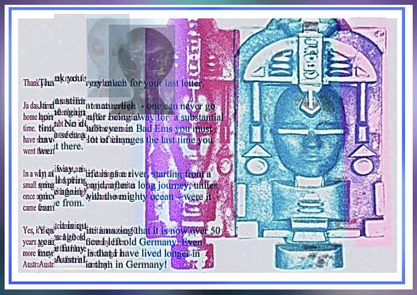 Mixed Media - Error Print by Hartmut Jager